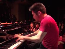 "【VIDEO】Extreme Duo plays ""Phoenix"" / Tempei&Maoki 天平&真央樹"
